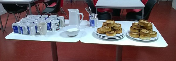 Tea and pies