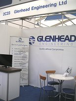 Glenhead Engineering Offshore Europe 2013 Stand 2C23